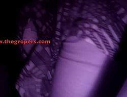 Groping in club