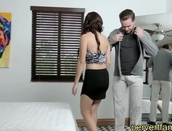 Pervertfamily- horny sister takes brothers virginity