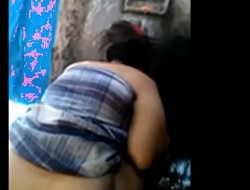 Indian aunty Nude bath captured by her lover from hidden camera
