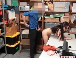 Bad Seed Teen Fucked In Back Office By Lawman