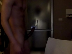 Huge cock Huge cum Asian muscle boy