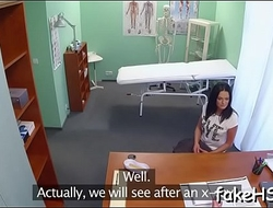 Non-stop fucking inside fake hospital