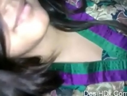 hot -and-beautiful-indian-girlfriend fucked by her bf.
