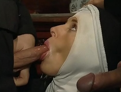 Dirty habits of an unscrupulous nun