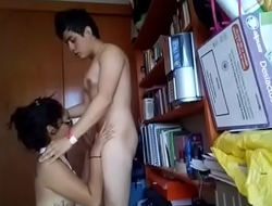 Indian Boyfriend &amp_ Girlfriend having fun at Home alone .MOV