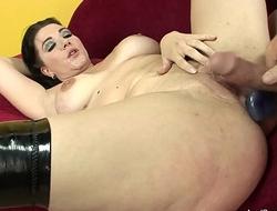 Short Haired BBW Anal Sex