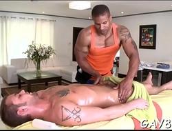 Gay tantra massage clip