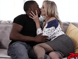 Busty MILF Julia Ann gets fucked hard by big black cock