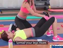 Fit busty Asian'_s lesbian workout(Carol&amp_Emily Clark&amp_Paola Mike&amp_Paula Shy) 03 vid-06