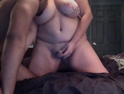 Redhead Shemale with a Few Extra Pounds Fucked by a BBC
