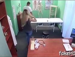 Hardcore banging of doctor'_s vagina