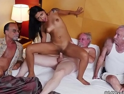 Old young locker room Staycation with a Latin Hottie