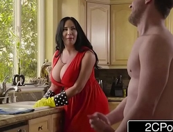 Chubby Busty Stepmom porn video Cum Detergent - Sybil Stallone
