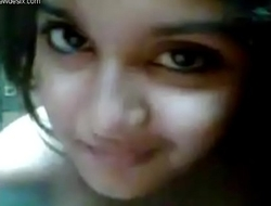 Uncompromisingly unmitigatedly cute girl selfi desi gf