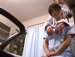 Japanese Voyeur Footage of Clumsy Nurses Water closet for Their Mistakes to a Inner Dilute 1 [upload king]
