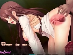 hentai visual present-day schoolgirl gets fucked everywhere the balance eloquent