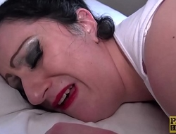 English BBW anally rammed by dom Pascal