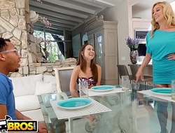 BANGBROS - Stepmom Cherie Deville Fucks Riley Reid&rsquo_s Black Boyfriend, Ricky Johnson