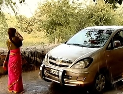 ---indian village bhabhi washing car..{uncut ex...