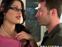 Big Tits at Work - You Bonk My Foetus You Are Fired instalment vice-chancellor Lallapalooza Cruz and James Deen
