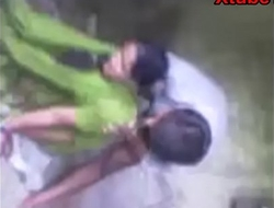 Indian Townsperson Desi Girl Dogy style Sex Video