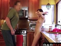 Daughter's porn video  Embargo - Brunette Teenie Stuffed by Her Stepdad - POV