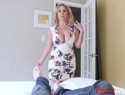 BLONDE HORNY MOM Excise Leave out MY DICK