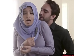 Muslim teen bitch in hijab anal fucked overwrought wanton factor