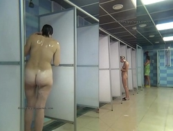 Public shower rooms unventilated cam
