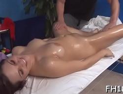 Hotty next door facialed by her massage psychotherapist