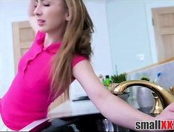 Blonde Legal age teenager Stepdaughter Gracie May Tangle With respect to Bathtub And Fucked By Stepfather