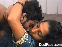 Indian Shire Team of two Rough Sexual intercourse Wed Hairy Slit Fucked