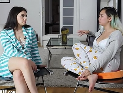 Homemade sex-tape give the man unpractised Italian chick Valentina Nappi