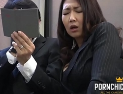 JAV Copyist fucked by the brush doyen boss - Not far from at PornChicki.com