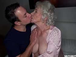 Regard quiet, my husband'_s sleeping! - Club granny pornography ever!