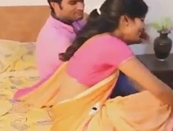 Hyderabadi Beautiful Saree Aunty Sex With Hot Brat