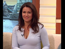 Cum Be worthwhile for Hot MILF Susanna Reid Fabulous Breakage Comely Chest