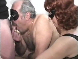 old couple with bi-sexual young male, mmmm, vintage