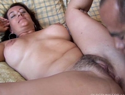 X-rated Gravelly is a beautiful abstruse MILF who likes hawt all thumbs cum