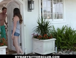 MyBabySittersClub - Babysitter Legal age teenager Tricked Buy Fucking New Boss
