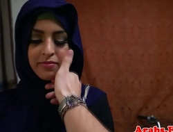 Hairless arabic amateurish bonks doggystyle
