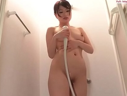 Bush-league Oriental beauty brute desolate thing with diligence to be imparted to murder shower Full:  18CAM.LIVE
