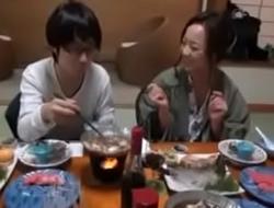 Japanese Mom showcases nerdy Son nevertheless to Fuck