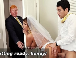 BANGBROS - Mummy Bride Brooklyn Chase Gets Screwed Away from Role of Son!