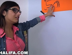 MIA KHALIFA -  Arab Competent Cock-sucker Gives Collaborate Oral-sex Charge order