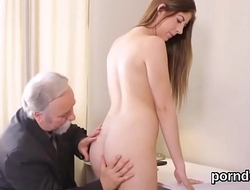 Scalding college explicit was teased increased by group-fucked by their way venerable dominie