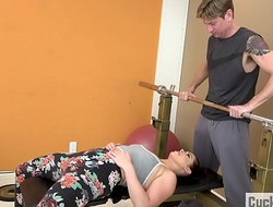 Headman Wife Fucked by Her Gym Cram