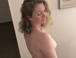 Saleable Housewife within reach a Motor hotel
