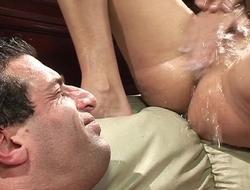 Cock-craving sluts acting lascivious in fantastic group action