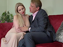 Georgie Lyall Loves to succeed in fucked hard by Aged cadger